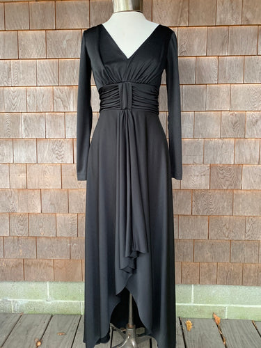 Black High-Low Gown