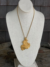 Load image into Gallery viewer, 1960s Castlecliff Bird Trio Necklace
