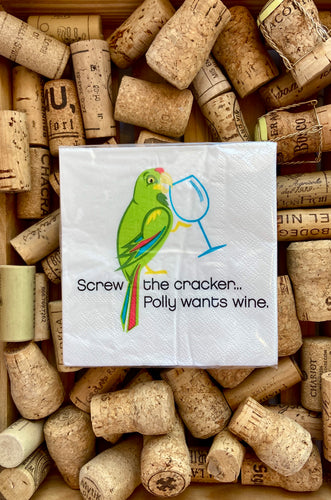 Napkin - Polly Wants Wine