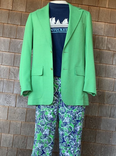 Green Men's Stuff Jacket