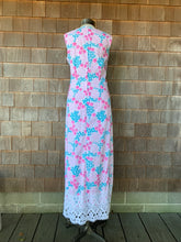 Load image into Gallery viewer, Blue/Pink Lace Lilly Maxi