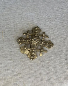 Gold Brooch