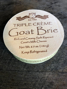 Woolwich Goat Brie Triple Creme