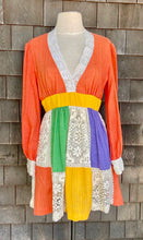 Load image into Gallery viewer, Jonathan Logan Lace Colorblock Dress