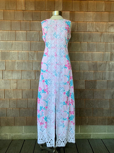 Blue/Pink Lace Lilly Maxi