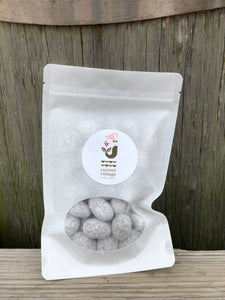 CHOCOLATE TOFFEE ALMONDS 8 OZ