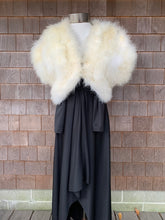 Load image into Gallery viewer, Ivory Marabou Feather Stole
