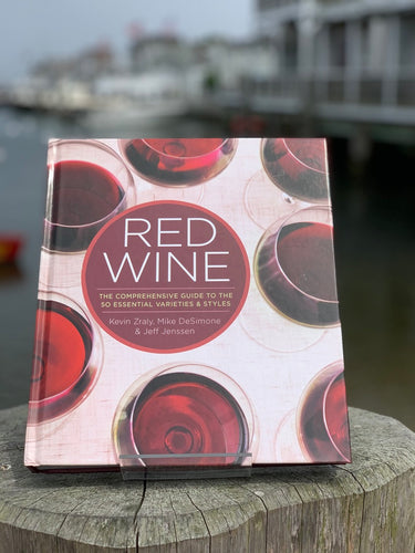 KEVIN ZRALY RED WINE book