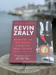 "Book - ""Windows On the World: Complete Wine Course"" by Kevin Zraly"