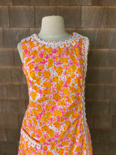 Load image into Gallery viewer, LILLY SHIFT W/ LACE ORANGE AND