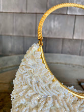 Load image into Gallery viewer, La Regale Ivory Beaded Bag