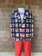 Load image into Gallery viewer, Vintage Madras Jacket