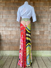 Load image into Gallery viewer, Emilio Pucci Silk Maxi Skirt Paisley
