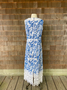 Lilly Maxi Rare Navy and White