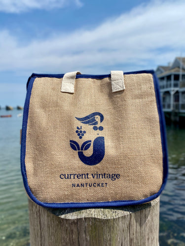 CV Insulated Tote Navy