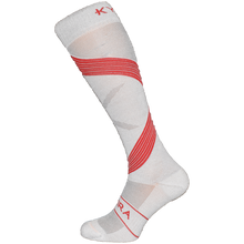 Load image into Gallery viewer, Kymira Infrared Compression Socks Grey & Red
