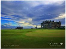 "Load image into Gallery viewer, JIGSAW ""THE HOME OF GOLF"""
