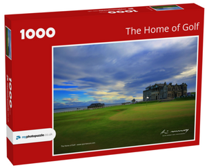 "JIGSAW ""THE HOME OF GOLF"""