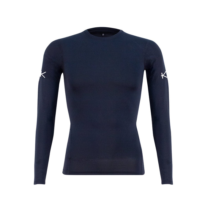 Men's Infrared Golf Base Layer Top - iGoSport x Kymira. Long sleeve. Black.