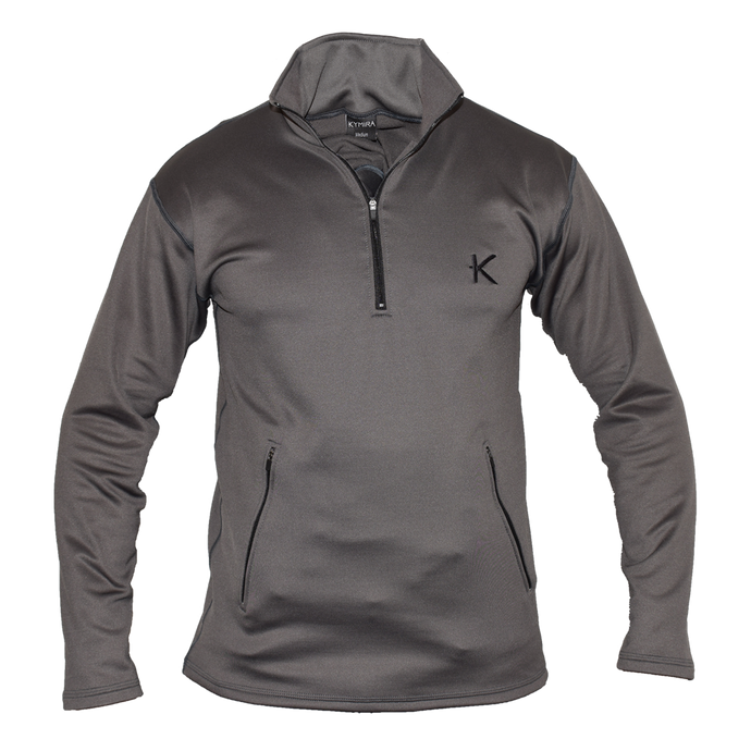 Kymira Men's Half Zip Fleece Grey