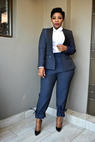 2 Piece Navy Suit
