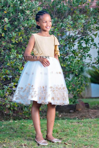 Gold Princess Tutu Dress
