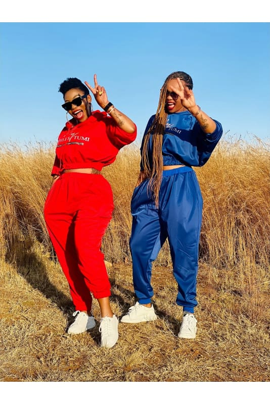 Styles by Tumi tracksuits
