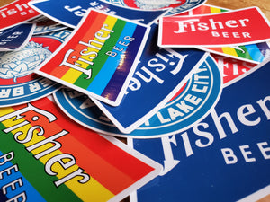Fisher Stickers
