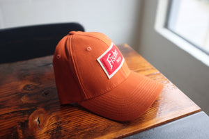 Full Canvas Trucker Snap Back w/ Red Felt Patch