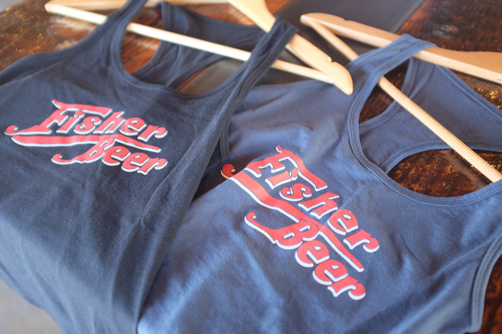 Fisher Classic Text Tank Tops (Women's)