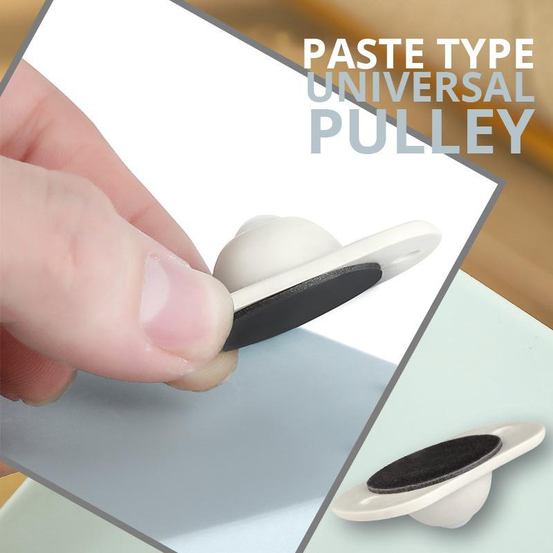 Paste Type Universal Pulley(4PCS)