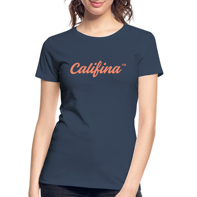 Califina Premium Organic T-Shirt - navy