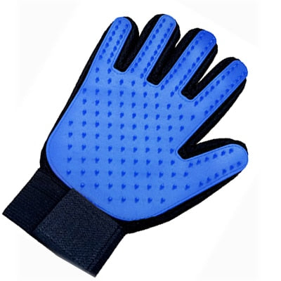 Anpro 1PC Cat Hair Remove Gloves Pet Dog Cleaning Deshedding Effective Massage Dog Cat Grooming Glove Left Right Hand Dog combs