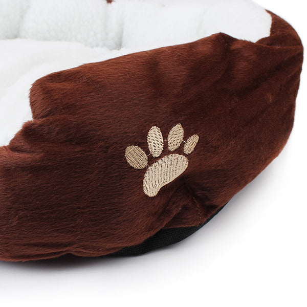 1Pcs 50*40cm Super Cute Soft Cat Bed Winter House for Cat Warm Cotton Dog Pet Products Mini Puppy Pet Dog Bed Soft Comfortable