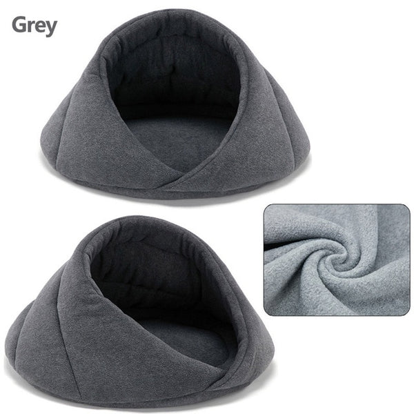 Warm Cat Cave House Pet Bed Pet Dog House Soft Pet Dog Cushion Cat Bed House Padded Cat Bed Mat House Chihuahua Kennel 40 A1