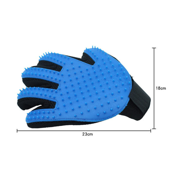 Silicone Pet Grooming Glove For Cats hair Brush Comb Cleaning Deshedding Pets Products for Cat Dog Removal Hairbrush For Animals