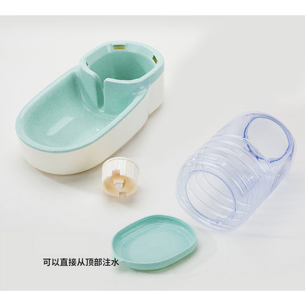 2 Pieces/set Cat Feeding Bowls for Dog Automatic Feeders Dog Water Dispenser Fountain Bottle For Cat Bowl Feeding And Drinking