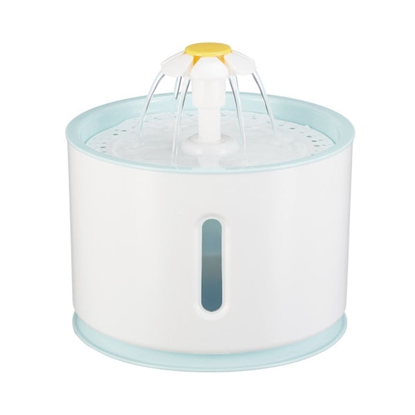 Automatic Cat Water Fountain For Pets Water Dispenser Large Spring Drinking Bowl Cat Automatic Feeder Drink Filter 1.6L 3 Colors