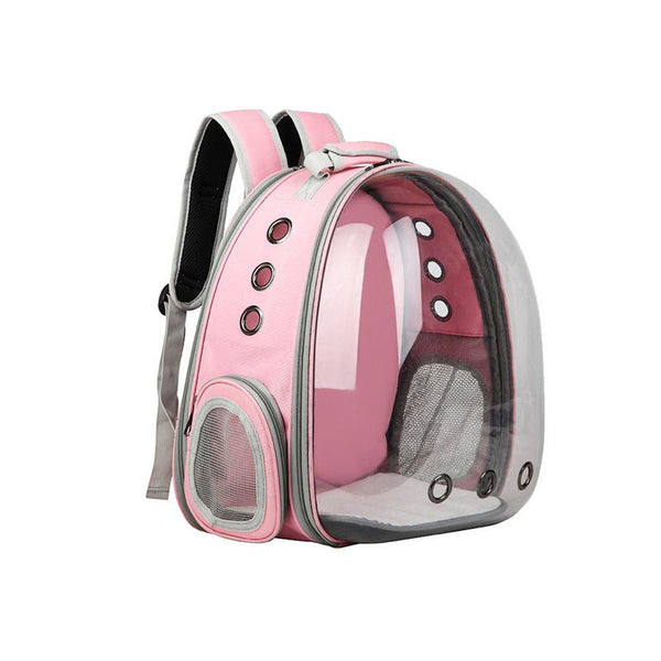 Portable Pet Cat Backpack Foldable Multi-Function Pet Dog Carrier Bag Large Space Capsule Bubble Shoulder Pet Backpack Tent Cage