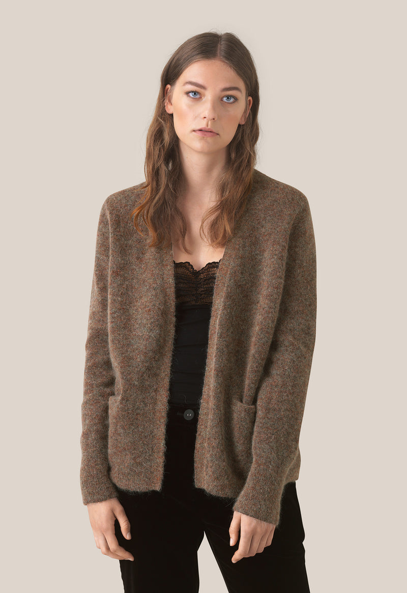 Brook Knit New Short Cardigan