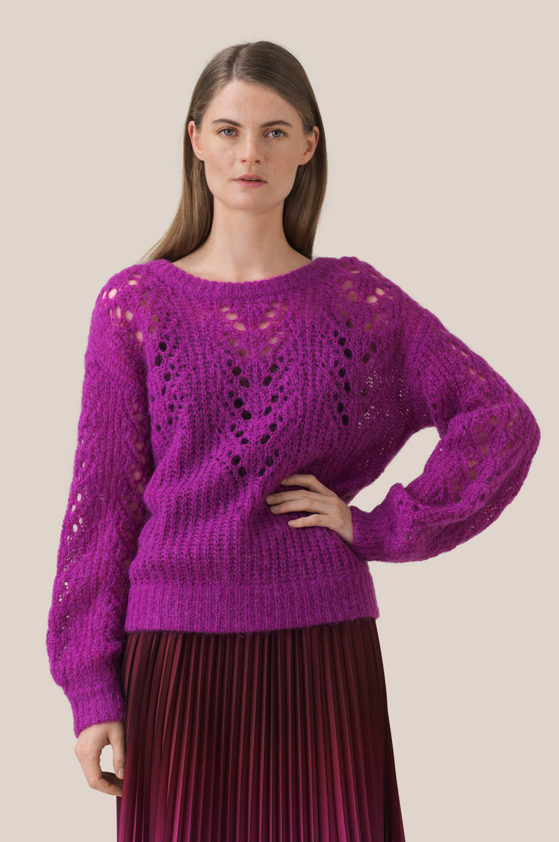 Annis Knit O-Neck