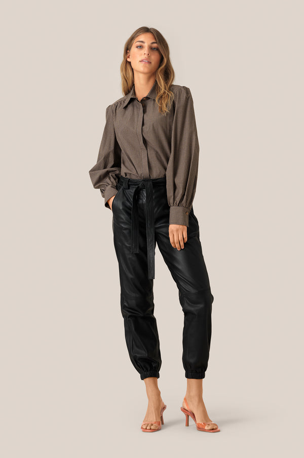 Indie MW Leather Trousers