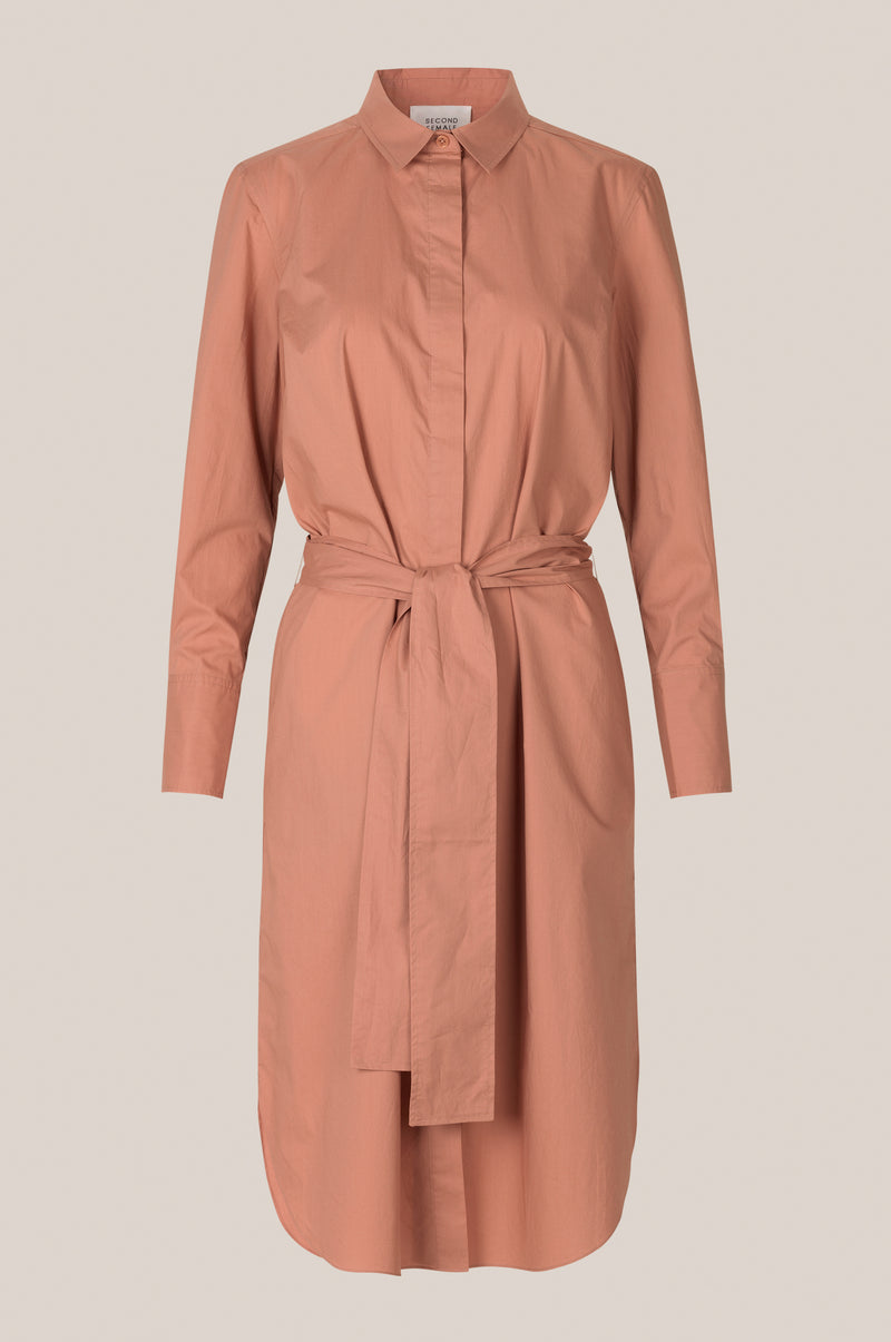 Larkin LS Midi Shirt Dress