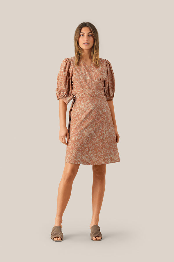 Straw SS Short Dress