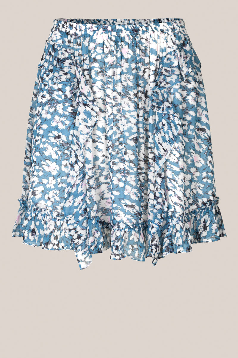 Clouds MW Short Skirt