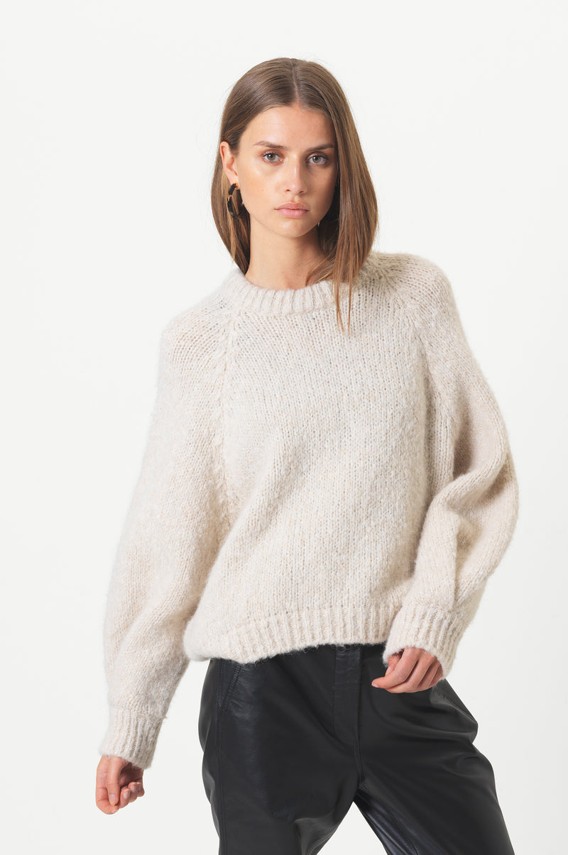 Milffa Knit O-Neck