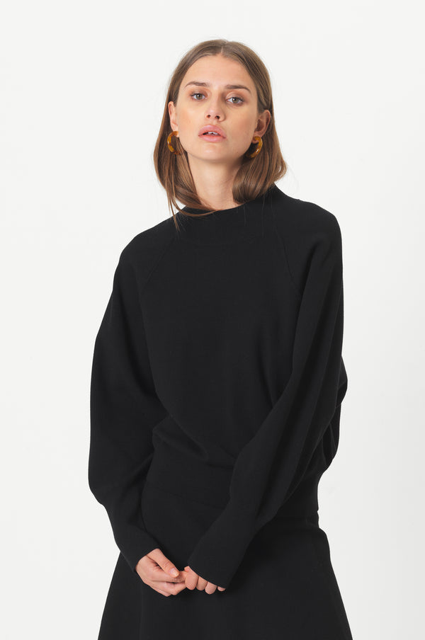 Octavia Knit T-Neck