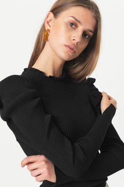 Canilla Knit T-Neck