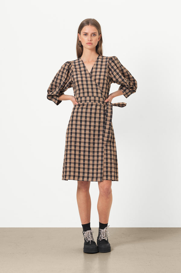 Osla Wrap Dress