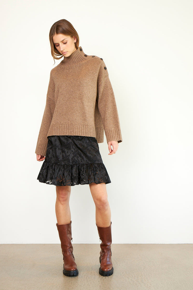 Feist Knit T-Neck